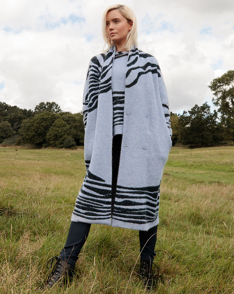 Jameel Knitted Coat
