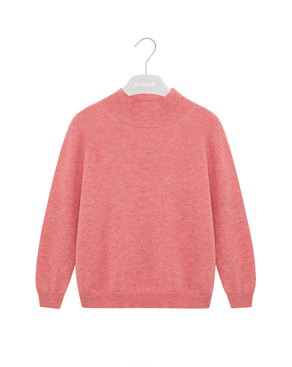 Pooh Kids Roll neck cashmere pullover