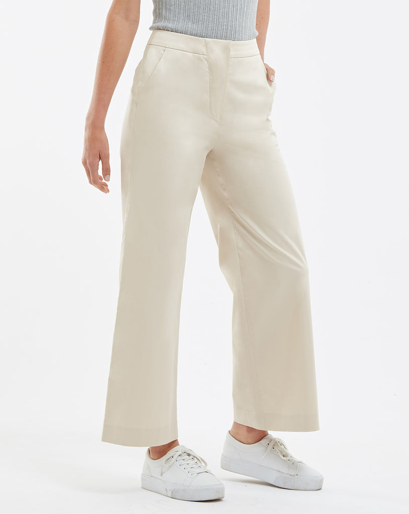 Cece Cotton Trousers