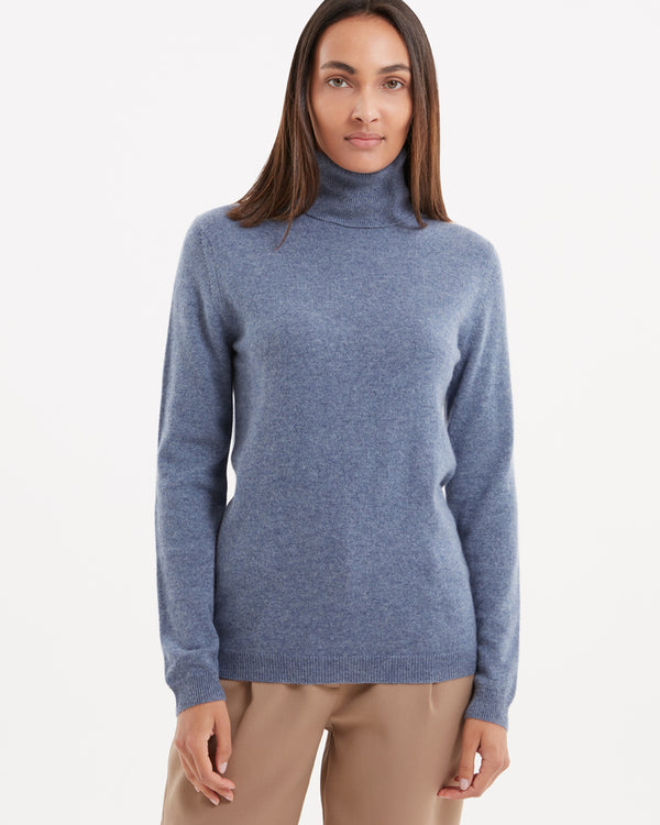 Marcel Roll Neck Cashmere Pullover