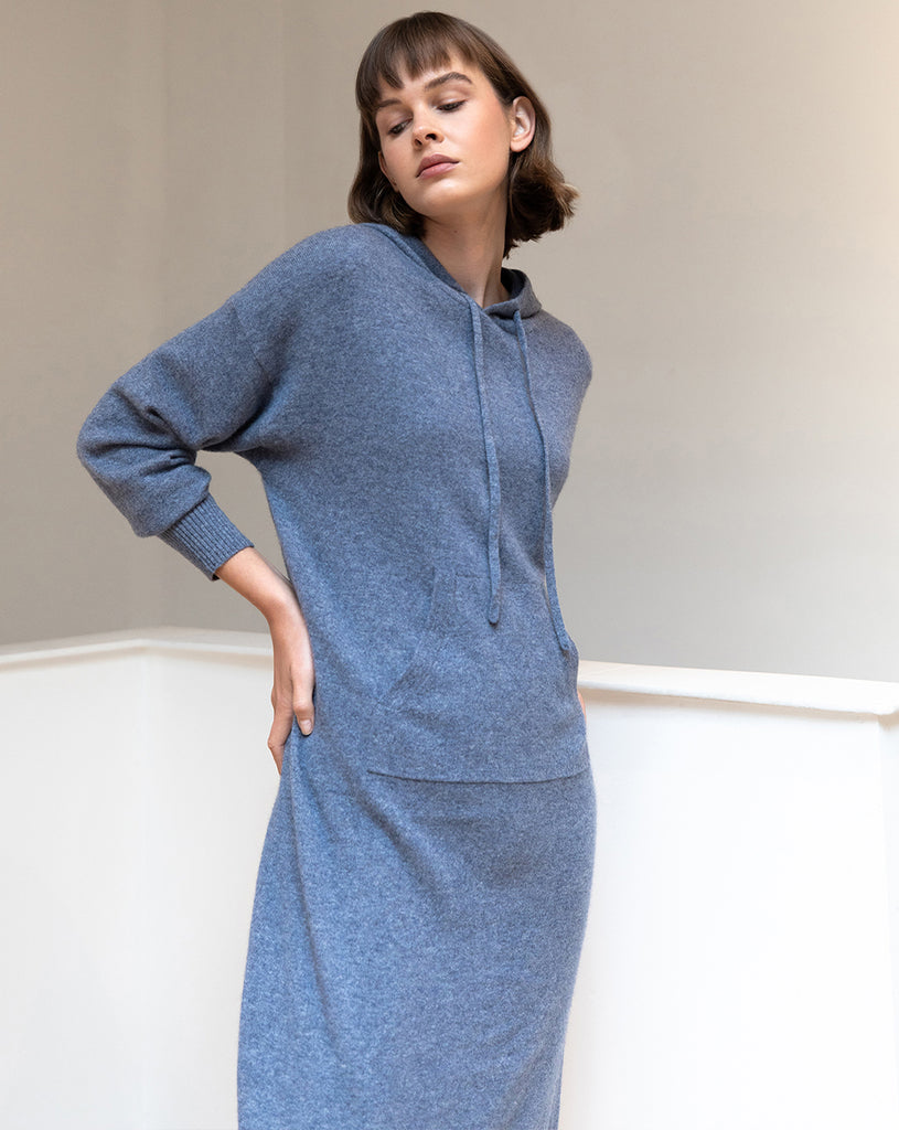 Salvia Cashmere Dress