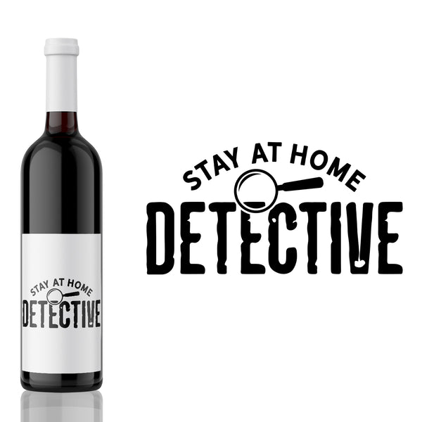 Stay at Home Detective - True Crime Label