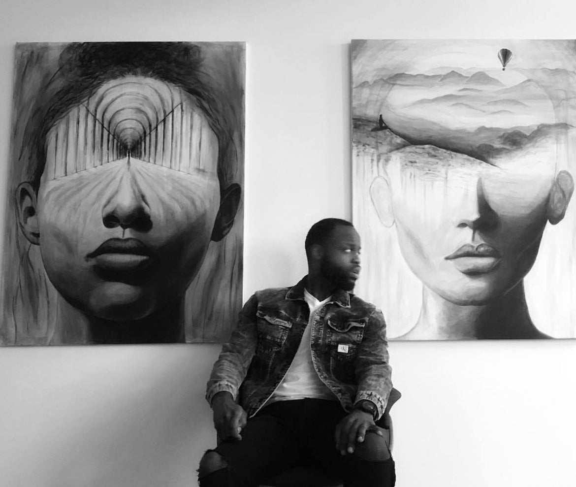 Adonte Clark Captures Subconscious Thoughts Within Stunning Works of Art