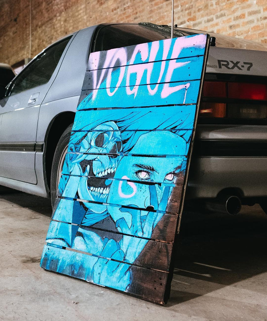 Chicago street artist Rawooh - Vogue