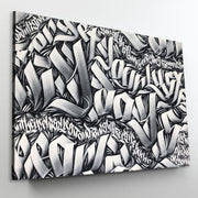 Digital Bath - Calligraffiti -Calligraphy Letters