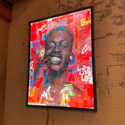 Save Your Pity by Chicago artist Dwight White