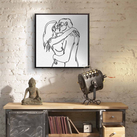 "Artist Replete presents ""Untitled Romance"" by Detroit artist Michael Keum. Moments of intimacy through a digital platform, which is the platform real many feel real intimacy is lost most on."