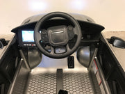 Accu auto kind Range Rover Evoque zilver mp4