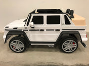Accu kinderauto Mercedes G650 wit