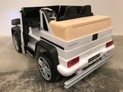 Kinder auto Mercedes G650 wit