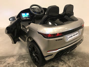 Kinder auto Range Rover Evoque zilver mp4
