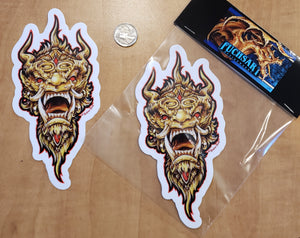 Demon decal