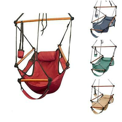RLTGear™ Hammock Hanging Sky Chair Portable Camping Outdoor Tree Swing