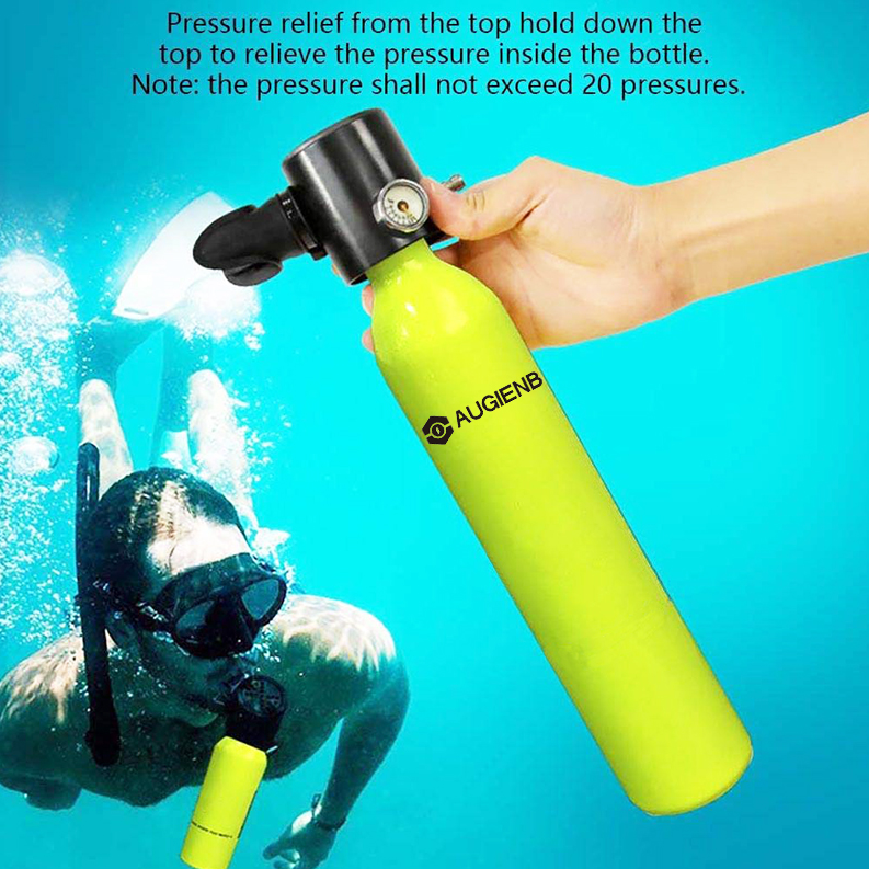 500ML Mini Underwater Oxygen Tank With Respirator