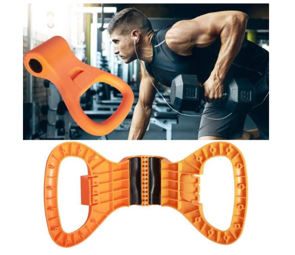 Gym2u™ Adjustable Kettle Bell Grip Weight Exercise Easy Carry Crossfit Gym Bodybuilding Fitness Equipment Dumbbell