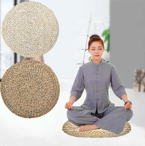 Nlightened™ Meditation Cushion Mat Pillow Rug Yoga Round Best Pad Chair Furniture Seat
