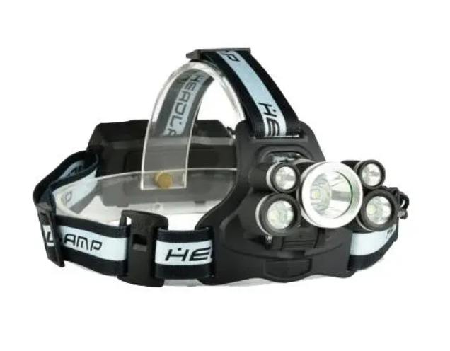 XANES Head Lamp LED USB Rechargeable Best Light for Running Hunting Camping Hard hat Backpacking