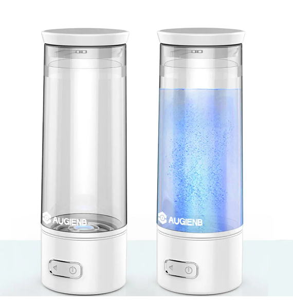 AUGIENB USB Charging Portable Hydrogen-Rich Water Bottle Generator Ionizer Maker Alkaline Energy Cup