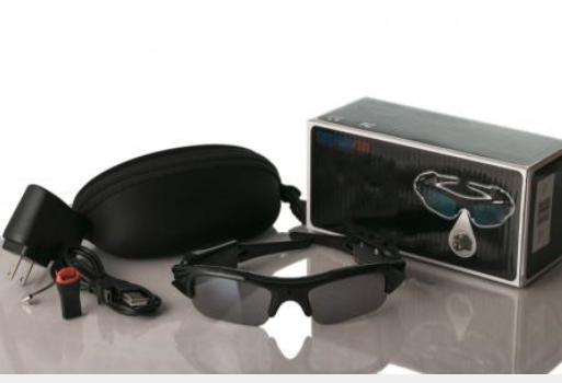 SPIware™ Wide Viewing Range Camcorder Sunglasses DVR Digital Video Audio Camera Recorder