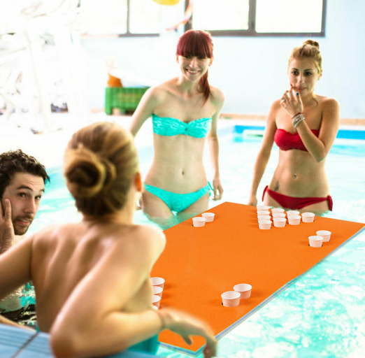 RLTgear™ Pool Beer Pong Floating Table Water Outdoor Game Multi-Purpose