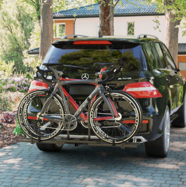 RLTgear™ Dual Bicycle Rack Trailer Hitch Mount Bike Carrier 2