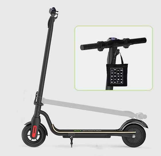 MEGAWHEELS  Folding Electric Scooter 8 inch Wheels 3 Speed Modes 25km/h Top Speed 17-22km Mileage Range LED Display Scooter S10 36V 7.5Ah 250W