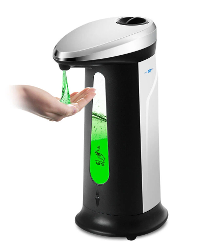 Home4U™ Automatic Soap Dispense Hands Free Touchless Sensor for Kitchen and Bathroom 400ml