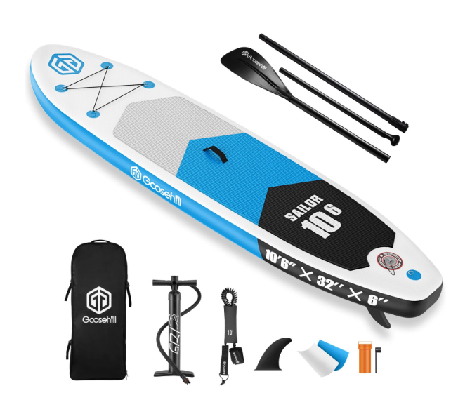 Goosehill Sailor Inflatable Stand Up Paddle Board 10' 6