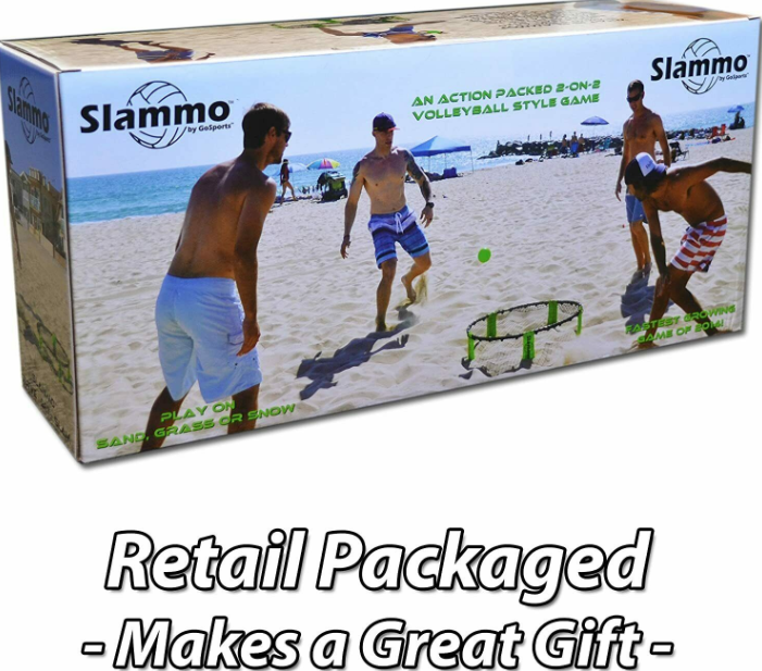Slammo™ Spikeball Mini Volleyball Set Beach Outdoor Yard Lawn Camping Backyard Game