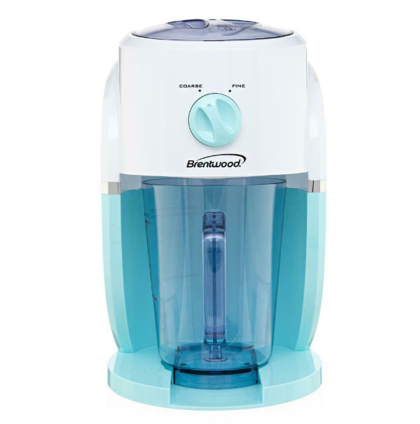 Brentwood Margarita and Frozen Drink Machine Slush Maker Home Bar Blue  TS-1425BL