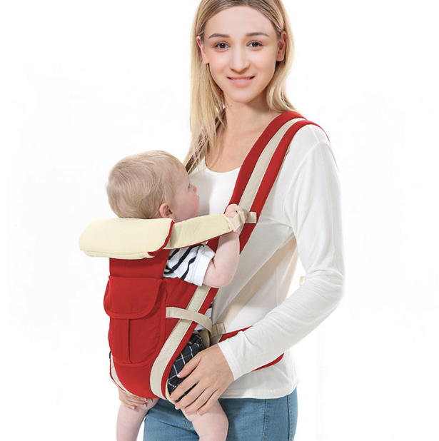 BaBino™ 4-in-1 Newborn Infant Baby Carrier Sling Best Breathable Ergonomic Adjustable Backpack