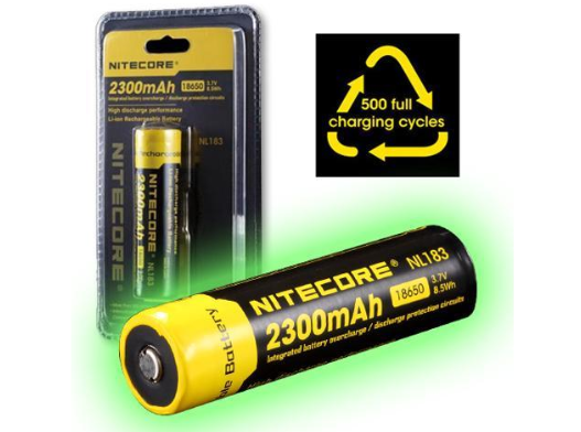 8 PCS NITECORE Micro USB Rechargeable AA Lithium Ion Battery NL1475R 750mAh 14500