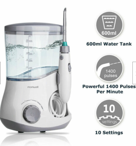 WaterPic™ Water Flosser Pick Best Oral Dental Waterpik For Kids Teeth With Braces 7 Ultra Tips