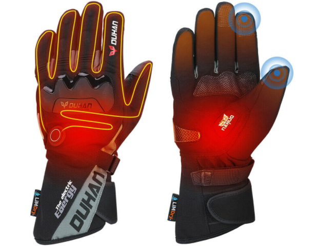 Heated Electric Gloves Best Warming Insulating Motorcycle Work Ski Mitts Rechargeable For Men Women