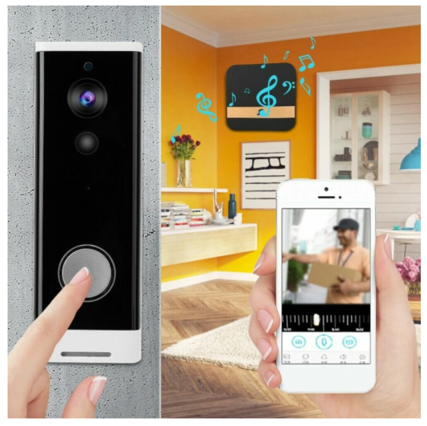 SeAll™ Doorbell Video Camera Best Wireless Smart Wifi Front Door Home Security Ring Bell System