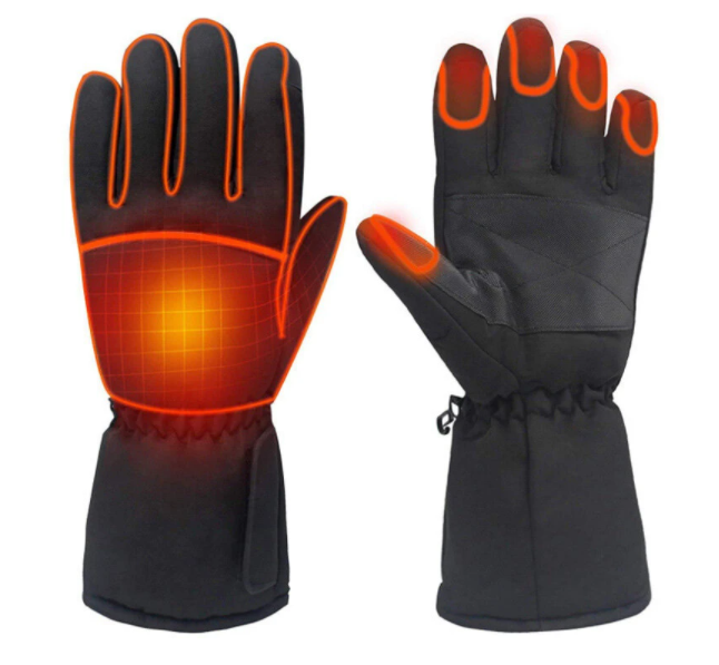 HotHandz™ Electric Heated Gloves Best Battery Operated Insulating Motorcycle Work Ski For Men Women