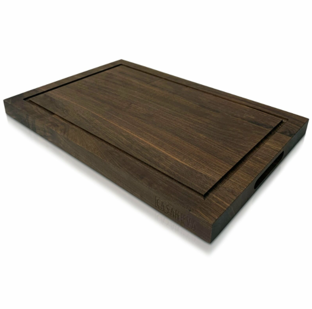 Wood Charcuterie Butcher Block Board For Cutting Large Cheese Meat Platter