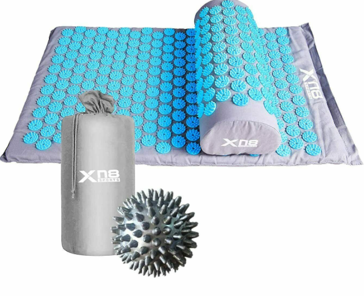 SpikeBed™ Acupressure Nail Mat Pillow For Deep Muscle Therapy Massage Shakti Acupuncture
