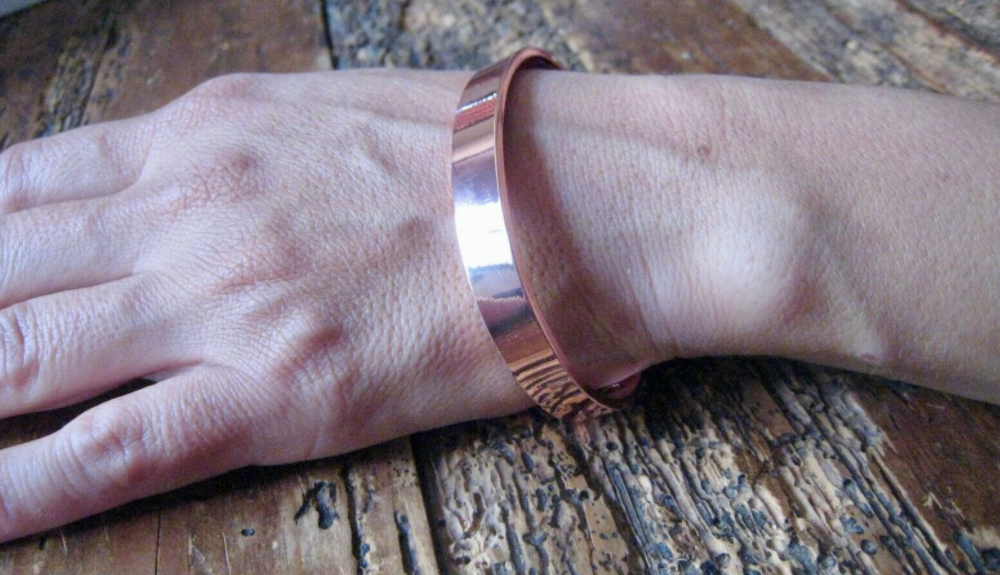 Pure Copper Magnetic Bracelet Wristband Arthritis Health Men Women 6 magnets