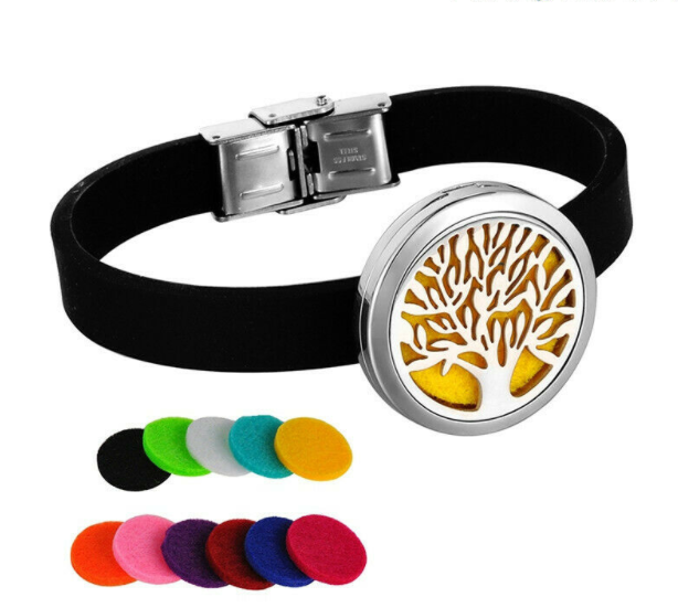 Essential Oil Bracelet Necklace Diffuser Aromatherapy Jewelry Pendant