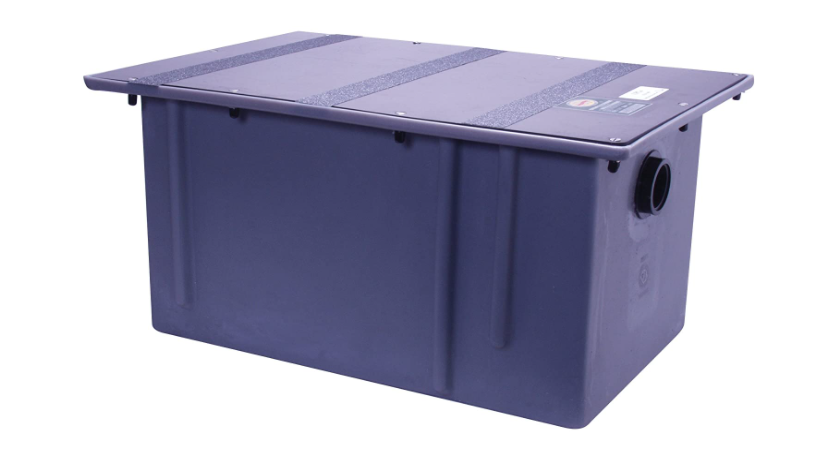 Polyethylene Grease Trap 50 Gallons Per Minute 100 Pounds Capacity Grease Interceptor, Grease Interceptor