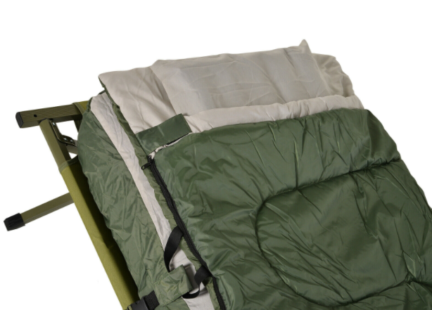 OutSunny™ One 1 Person Cot Tent Sleeping Camping Bed with Air Mattress Sleeping Bag