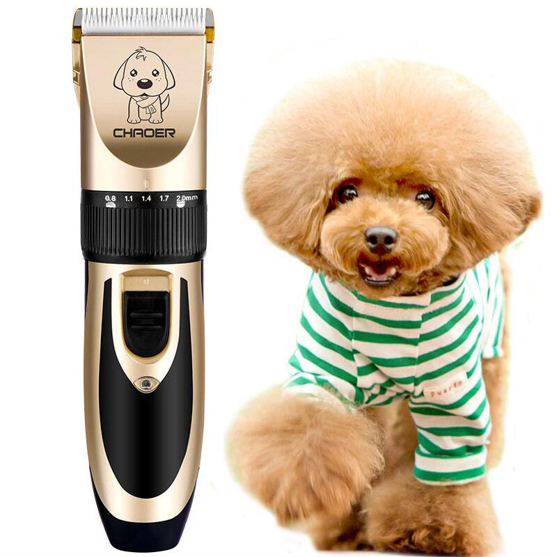 Mamee™ Dog Hair Cordless Trimmer Cutter Clippers Best Quiet Cat Hair Grooming Scissors