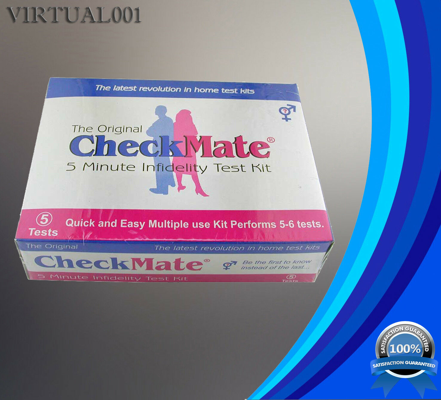 5 Test CheckMate Infidelity Semen Test Kit Instant Surviving Affair - How to catch a cheater in 5 Minutes