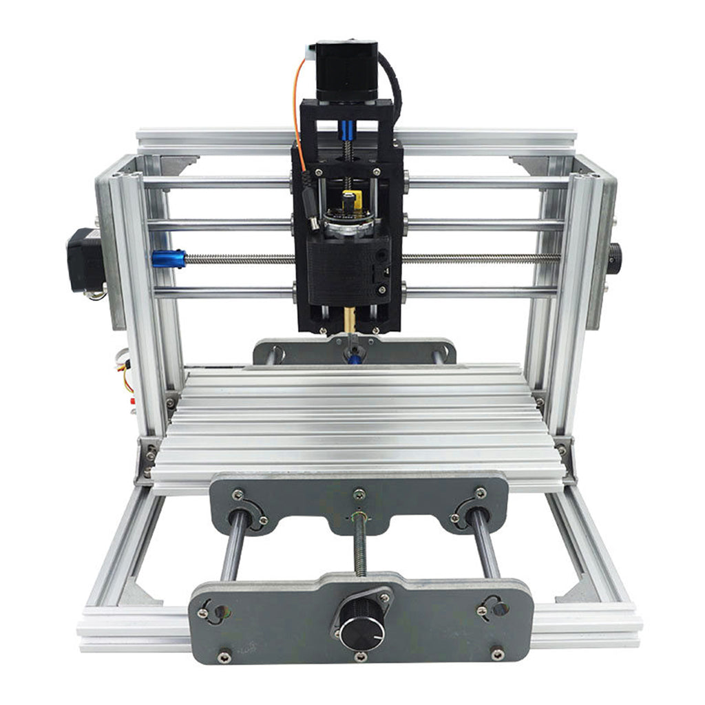 Mini DIY CNC Router Wood Craving Engraving Cutting Milling Desktop Engraver Machine 240x170x65mm 2417 3 Axis