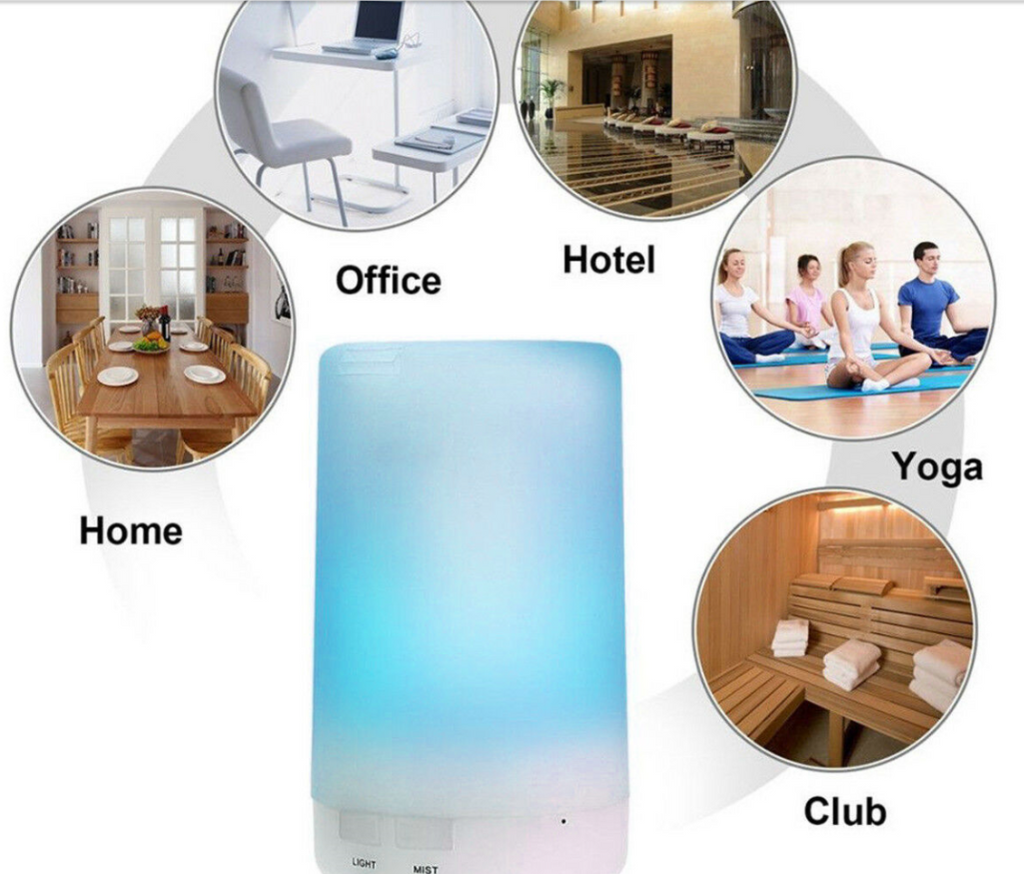 BreatheEZ™ 7 LED Diffuser Aroma Essential Ultrasonic Air Humidifier Purifier Aromatherapy Child