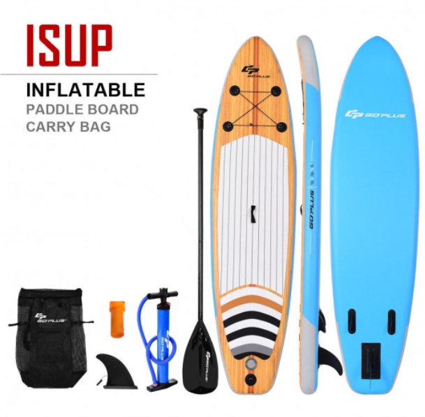 BoatSurf™ Inflatable Stand Up Paddle Board iSUP With Best Accessories