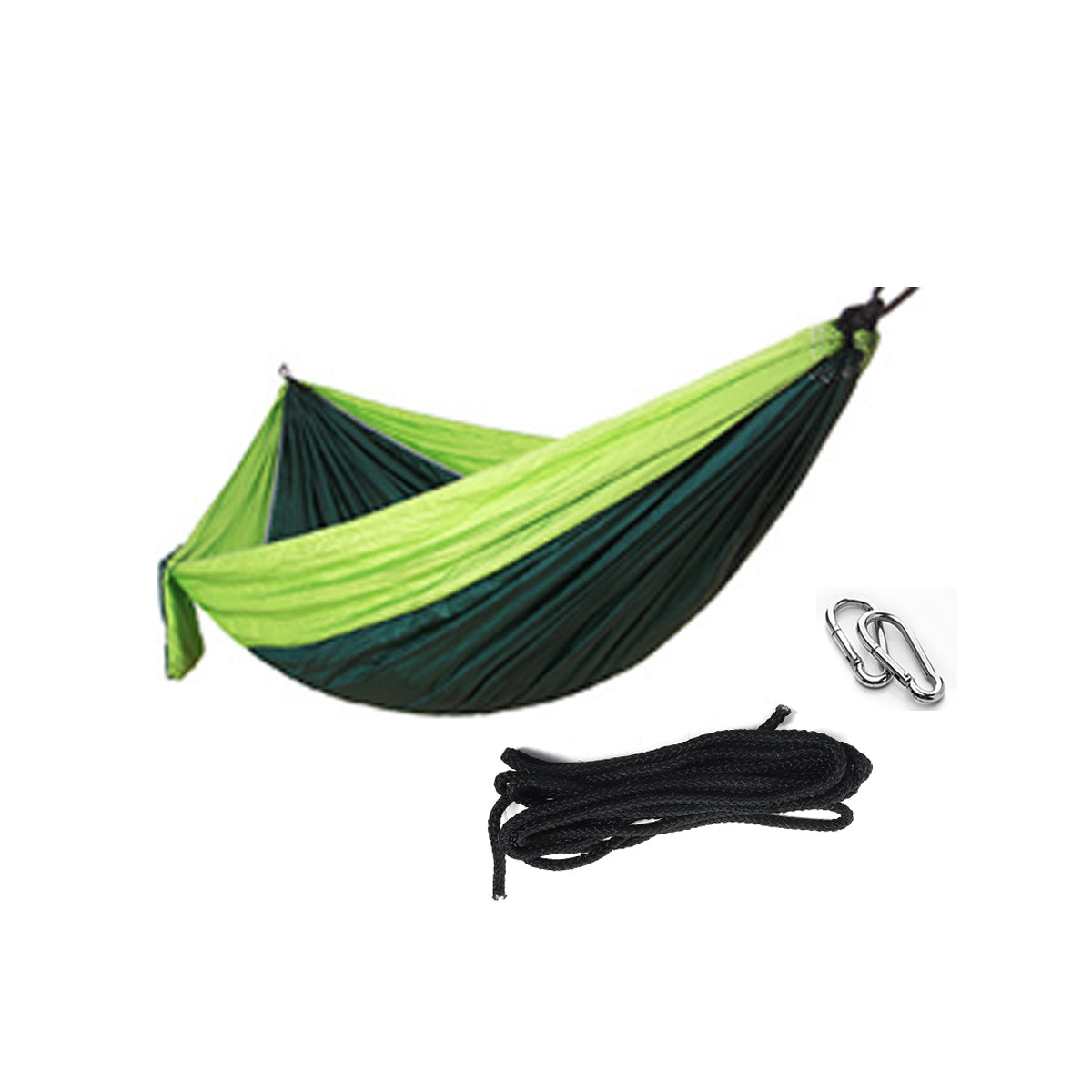 RLTGEAR™ Double Person Hanging Hammock Portable Camping Hammock Bed Max Load 200KG