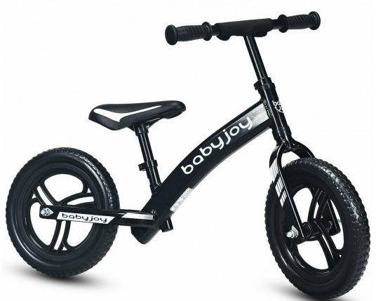 Toddler Kids Strider Balance Bike Best No-Pedal Pedal Less Bicycle with Adjustable Seat 12