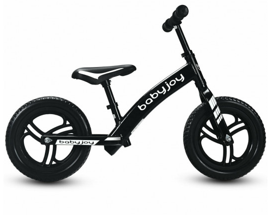 Toddler Kids Strider Balance Bike Best No-Pedal Pedal Less Bicycle with Adjustable Seat 12""